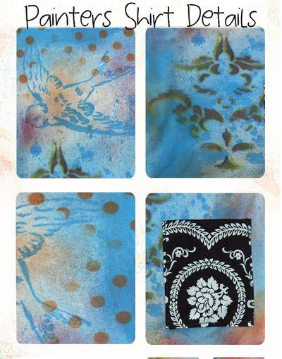 Paintersshirtdetails